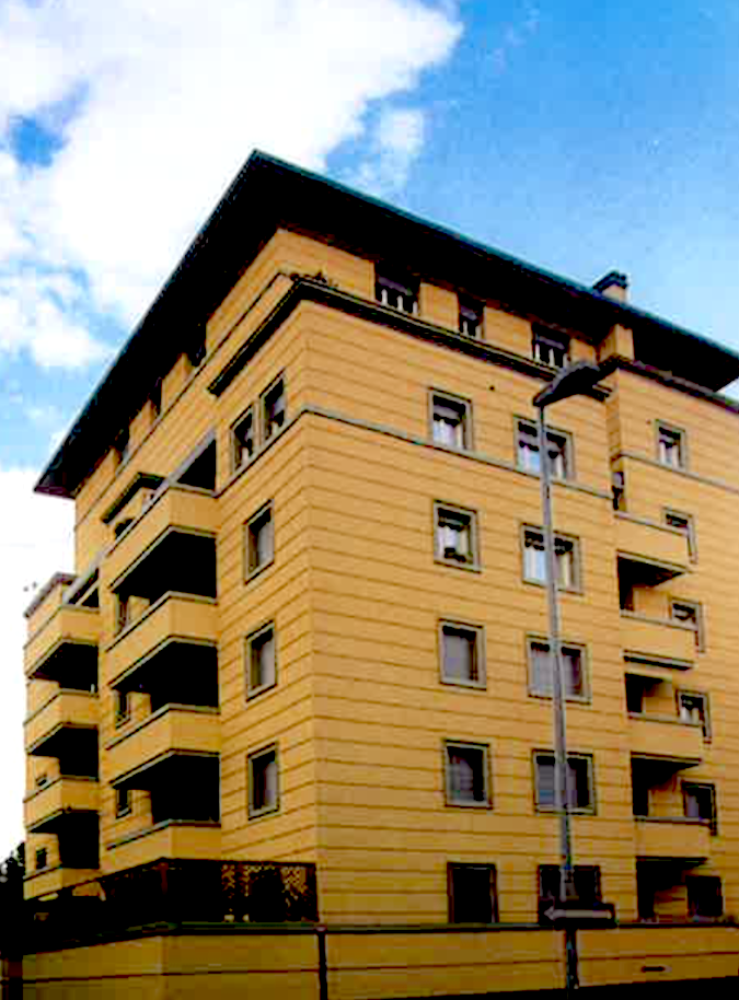 Via Vermiglia progetto nuova costruzione