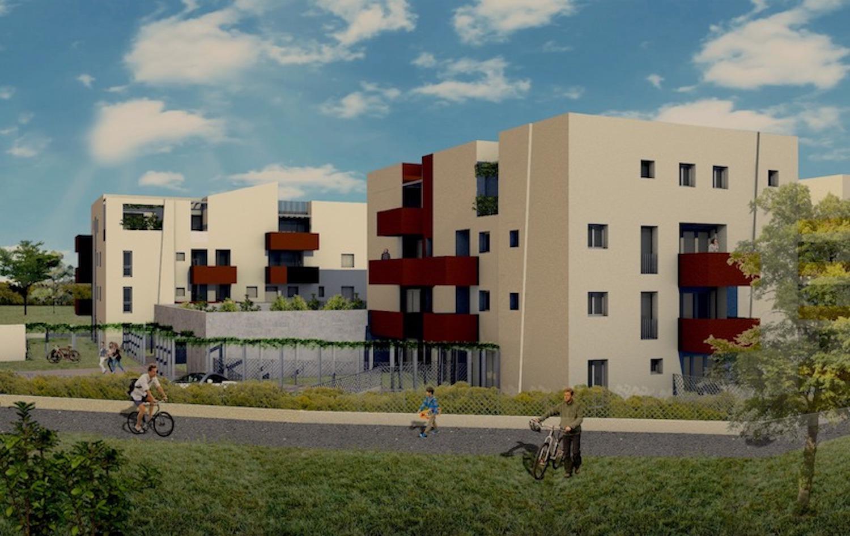 Progetto edile a Villanova render